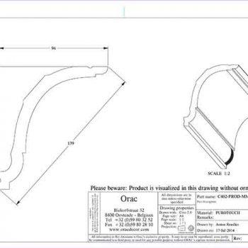 c402 схема с размерами