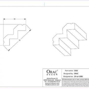 c602 чертеж с размерами