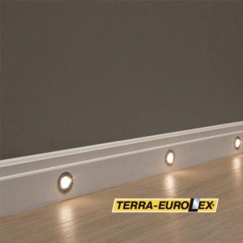 LED встроенное в плинтус