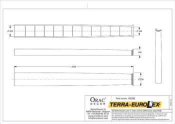k1101-схема с размерами