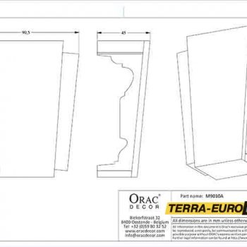 m9010a--схема с размерами