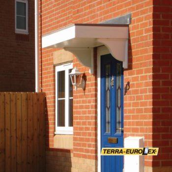 фото FC01 голубая дверь