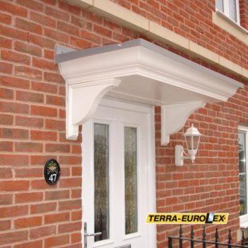 фото FC01 в белом цвете вход в дом