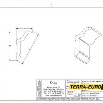 cx141-схема с размерами