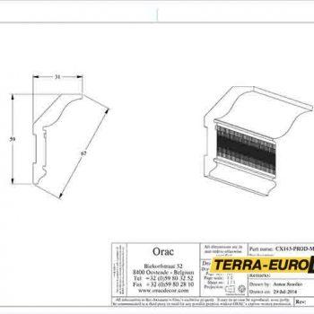 cx143 схема с размерами