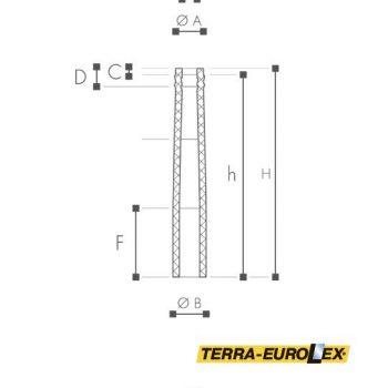 РАзмеры ARSTYL® Half Column, smooth