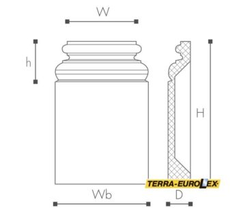 ARSTYL®PB1 схема с размерами