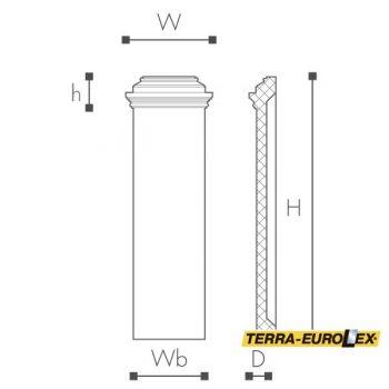ARSTYL®PB схема и размеры