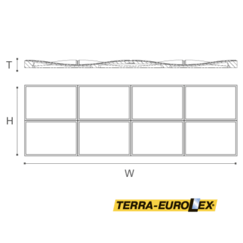 ARSTYL® Bump чертеж и размеры