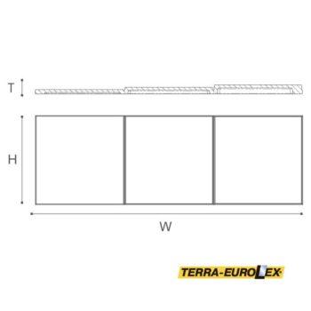 arstyl wallpanels domino чертеж с размерами