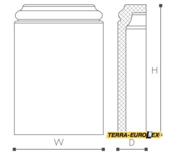 WALLSTYL®WB1-схема +размеры