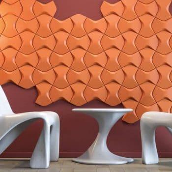 фото wall tiles  оранжевый