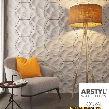 walltiles coral - фото стеновых панелей
