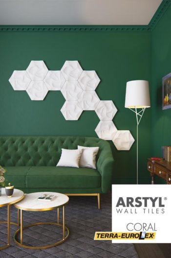 walltiles coral фото стеновых панелей в интрьере