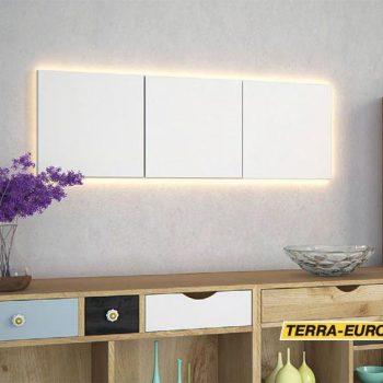 Light frame ARSTYL в интрьере на сером фоне